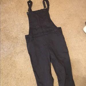 (PacSun) Black Overalls
